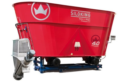 Siloking staticline voerwagen